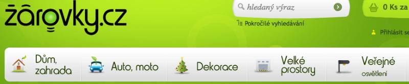 Příklad použití grafických ikonek
