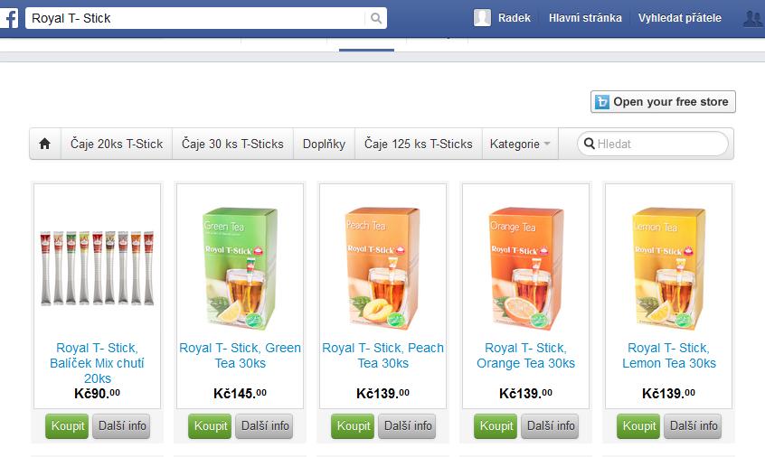 FB a TW testují přímý prodej