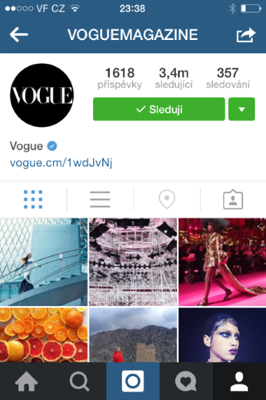 Instagram a eshopy