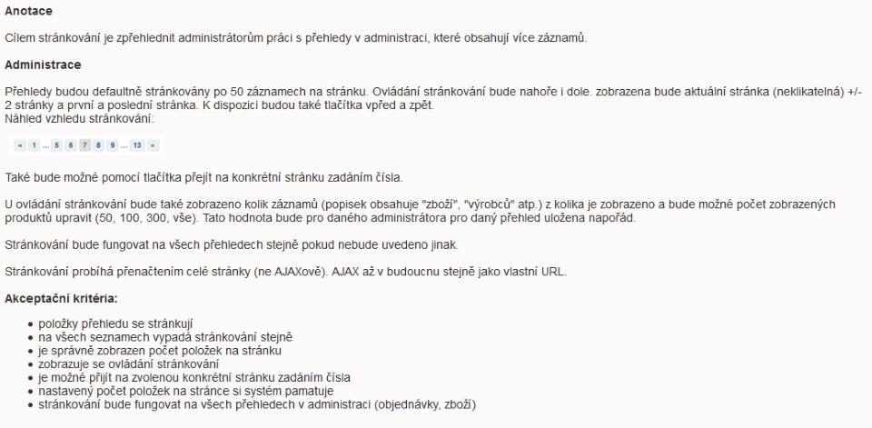 Špecifikácia webových aplikácií - ako má takáto špecifikácia vyzerať