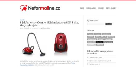 Propagace produktu na blogu Mall.cz