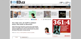 Levnější platby kartou od slovenských bank
