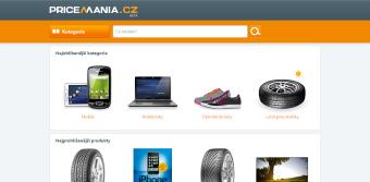 Zbožový vyhledávač Pricemania.sk v Česku