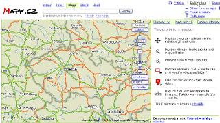 Kontextové zvýrazňovanie na Mapy.cz