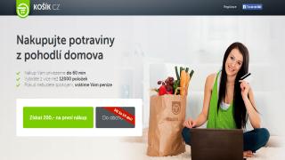 Košík.cz - další hráč online rozvozu potravin