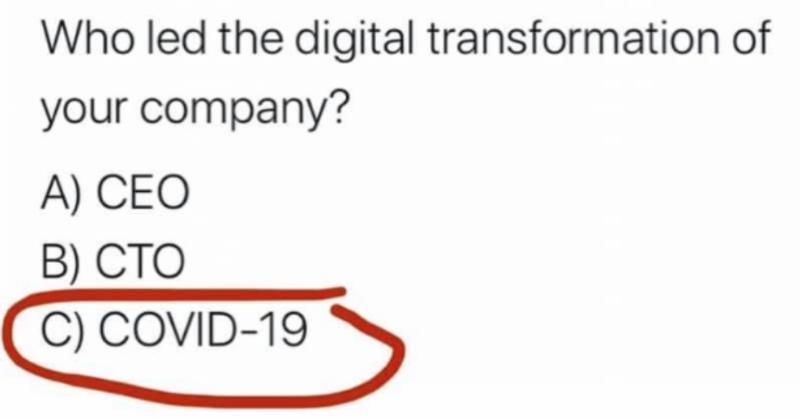 A kdo řídí vaší digitální transformaci?