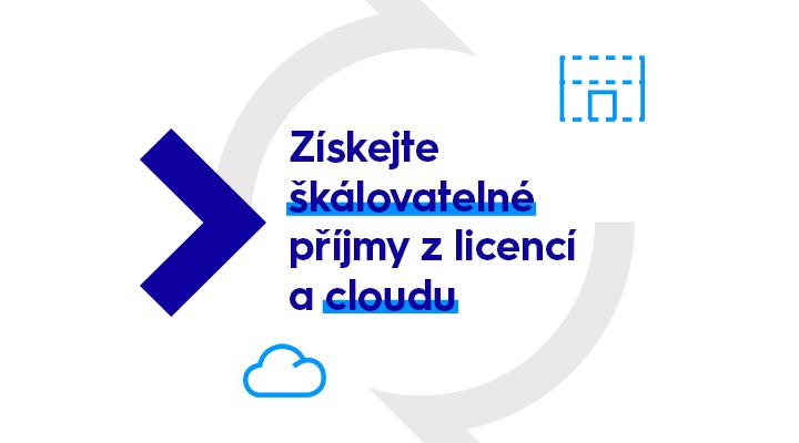Získejte škálovatelné příjmy z licencí a cloudu