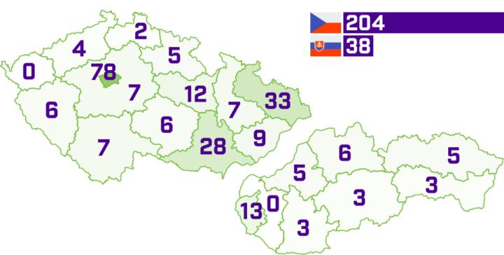 Rozloižení českých a slovenských agentur nabízejících e-shopy na míru