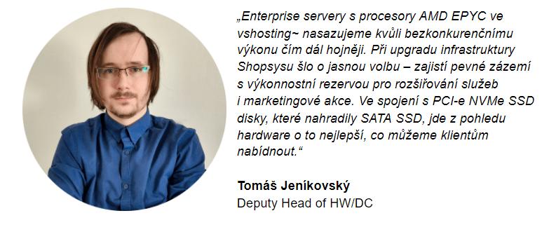 Tomáš Jeníkovský vshosting