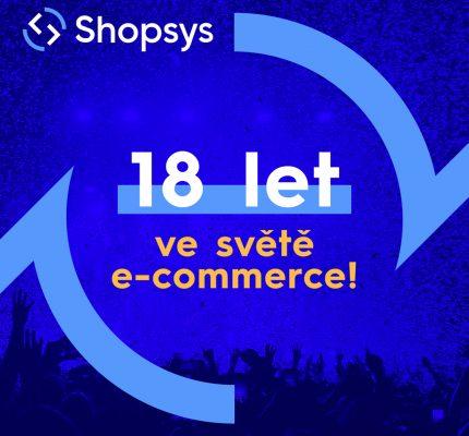 18. narozeniny Shopsysu